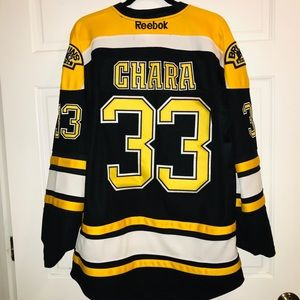 best loved 8a917 c77fd Official NHL Boston Bruins Zdeno Chara Jersey